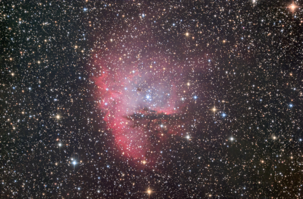 NGC_281 (Pac-Man nebula) - астрофотография