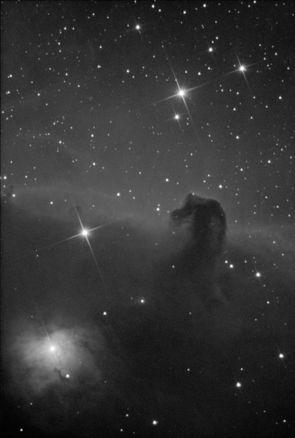 """Туманность """"Конская голова"""" - астрофотография"""