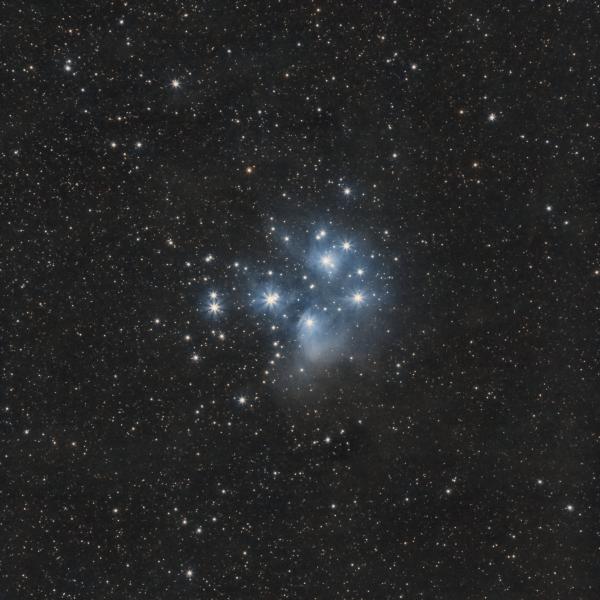 The Pleiades M 45 - астрофотография
