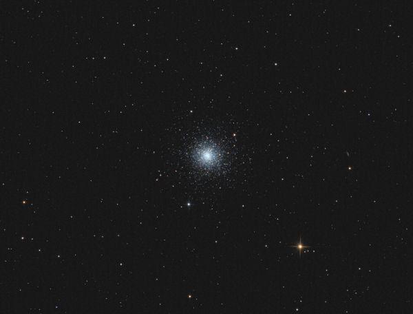 Globular cluster M3 - астрофотография