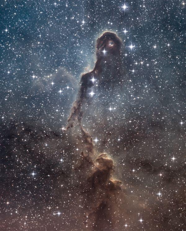IC 1396 Открыточная ламповая мягкая =) - астрофотография