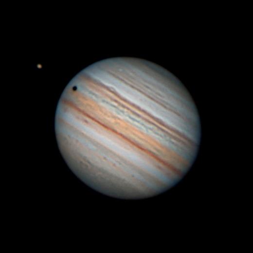 Юпитер 17 сентября - астрофотография