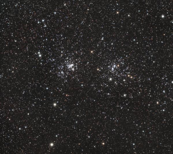 Хи и Аш Персея (NGC 869 & NGC 884) - астрофотография