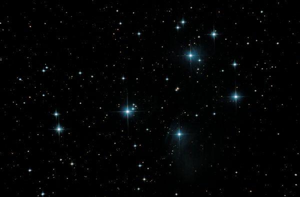 M45 - Плеяды - астрофотография