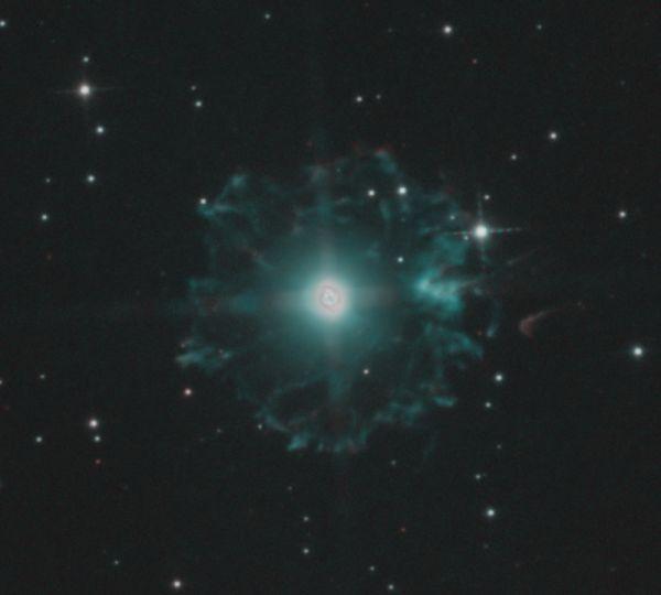 NGC 6543 - астрофотография