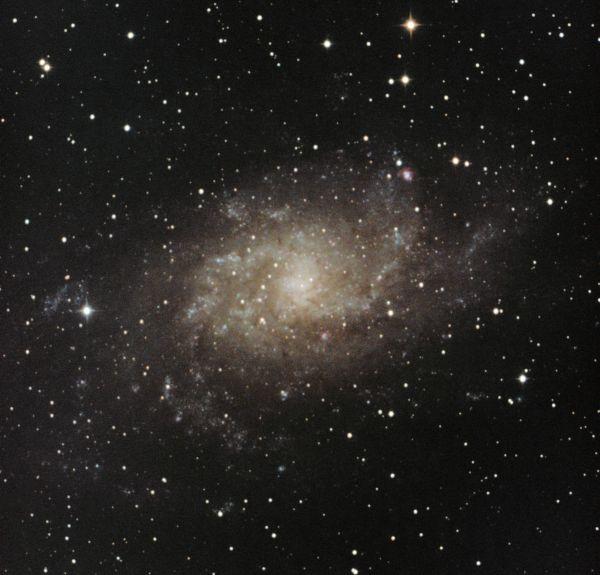 М33 180807 - астрофотография