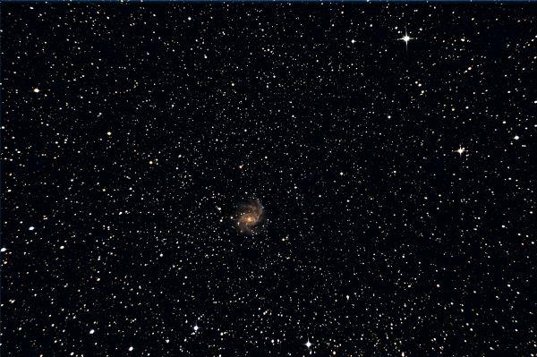NGC6946 Fireworks galaxy - астрофотография