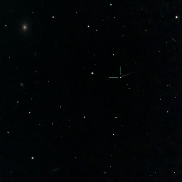 Сверхновая 2021hiz в галактике IC3322A (Дева) - астрофотография