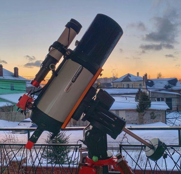 Астробалкон - астрофотография