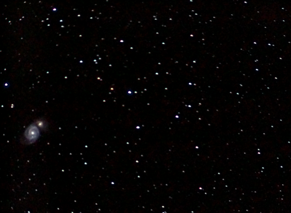 Галактика Водоворот М51. 24.04.20 - астрофотография