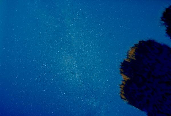 night landscape - астрофотография