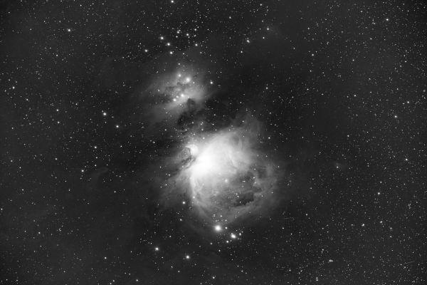 Первый свет - M42 - астрофотография