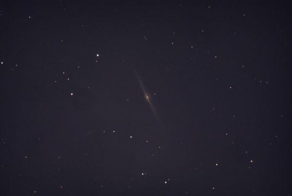 NGC 4565. Галактика Игла - астрофотография