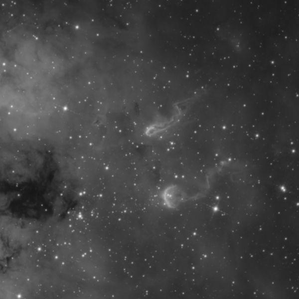 Tadpoles nebula - астрофотография