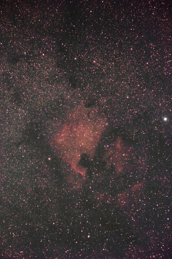 Эмиссионные туманности Северная Америка и Пеликан. 21-22.07.2021 - астрофотография