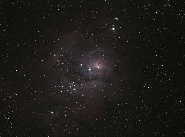 M8 Lagoon - астрофотография