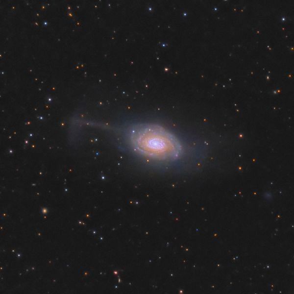 The Umbrella Galaxy ARP 189, NGC 4651 - астрофотография