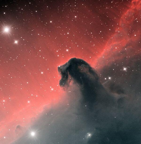 IC434 Lum + Ha - астрофотография