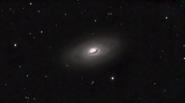 M64. The Black Eye Galaxy - астрофотография