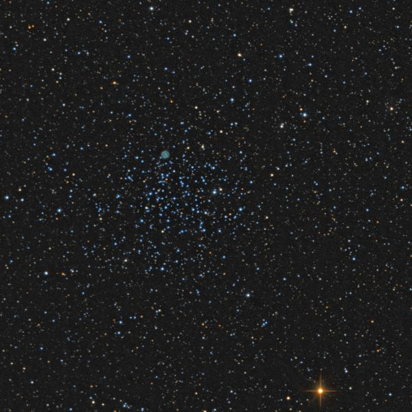 M46 & NGC2438 - астрофотография