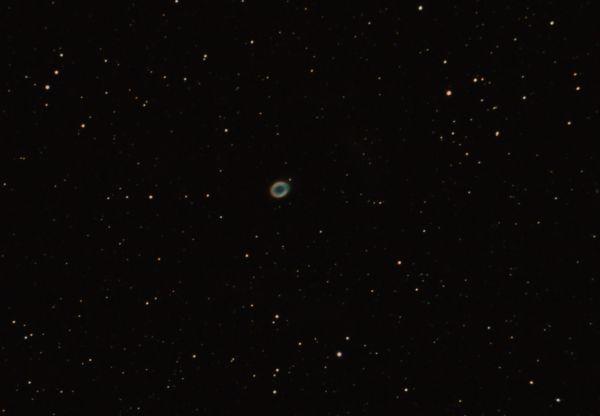 M57 - Туманность Кольцо - астрофотография