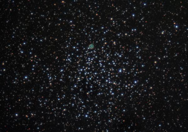 М46 NGC2438 - астрофотография