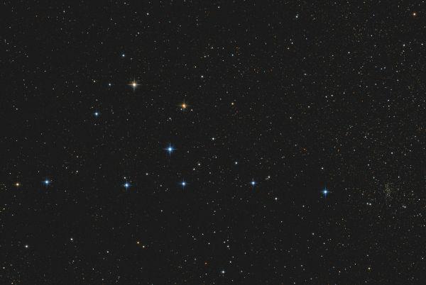Asterism Cr399 - Вешалка - астрофотография