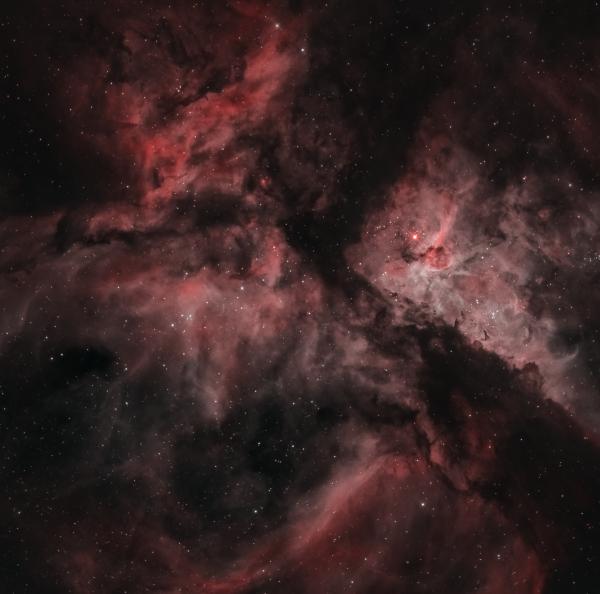 NGC 3372 - астрофотография