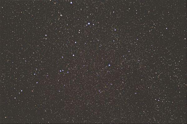 Млечный путь в области Кассиопеи  - астрофотография
