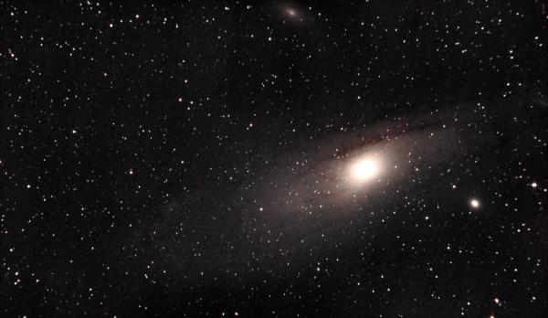 Галактика Андромеда (M31) 03.09.2020 - астрофотография