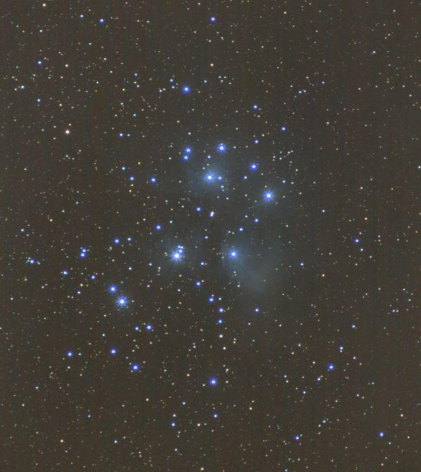 Pleiades - астрофотография