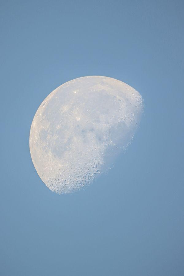 Утренняя Луна 29.07.2021-время 6.07 - астрофотография