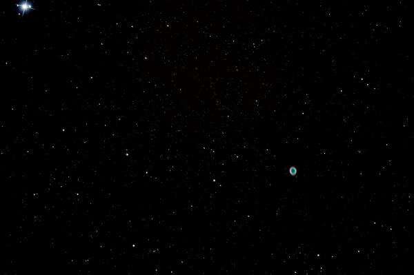 M57 - Ring Nebula - астрофотография