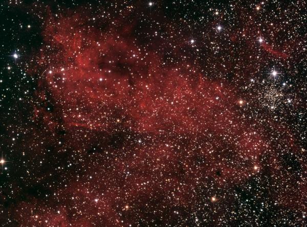 IC 1311 in cygnus Ha_RGB - астрофотография