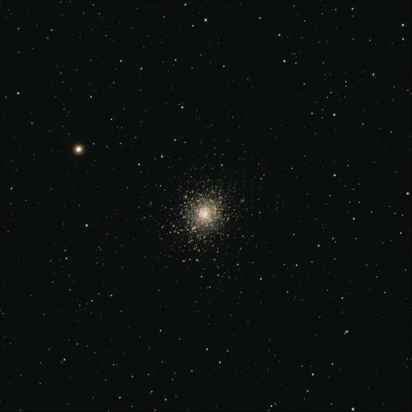 M5 - Шаровое звёздное скопление - астрофотография