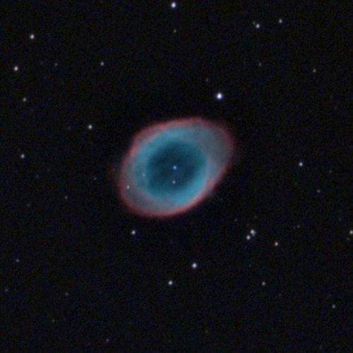 M57 - Кольцо - астрофотография