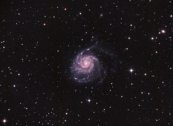 m101 Вертушка - астрофотография