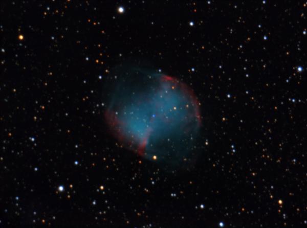 M27 - Dumbbell Nebula - астрофотография