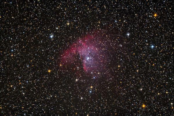 """Туманность NGC 281 """"Пакман"""" - астрофотография"""