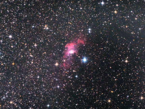 """NGC 7635 (ТУМАННОСТЬ """"ПУЗЫРЬ"""") - BUBBLE NEBULA - астрофотография"""