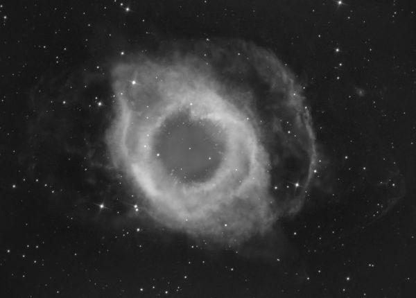 Helix nebula -Ha - астрофотография