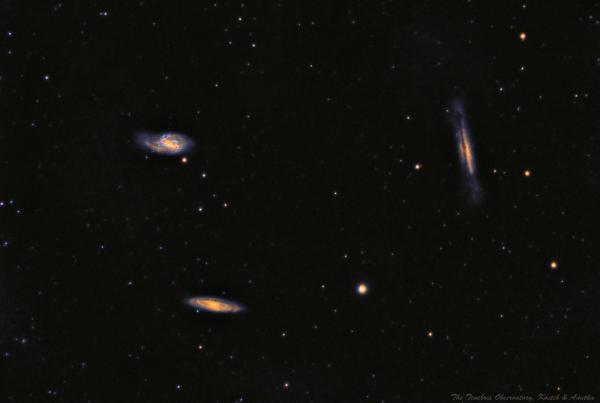 The Leo Triplet - астрофотография
