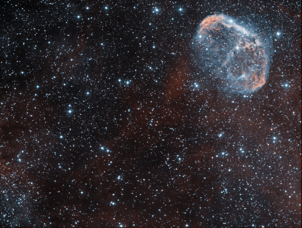 NGC6888+Soap Bubble HOO - астрофотография