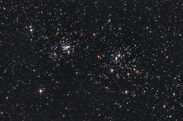 Double Cluster NGC 869 and NGC 884 - астрофотография