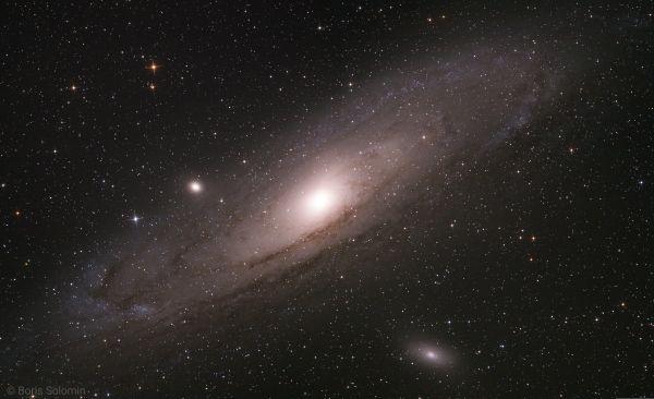 M 31. 2x2 mosaic  - астрофотография