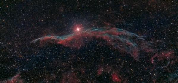 NGC 6960 Ведьмина метла - астрофотография