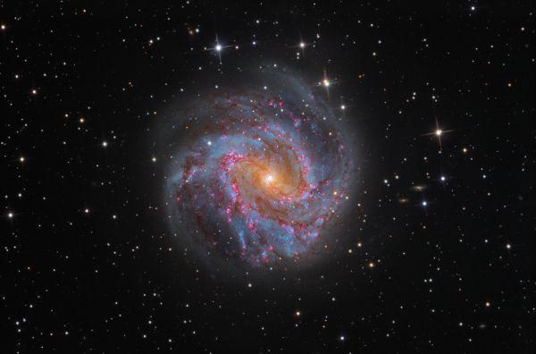 M83 - астрофотография