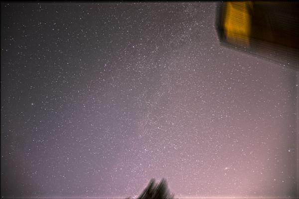 Млечный путь и галактика Андромеды - астрофотография