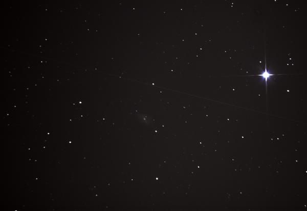 Галактика Пылесос М 109 в созвездии Большой медведице. 10.04.2021 - астрофотография