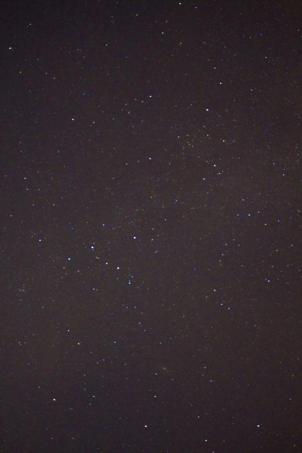 Fragment of the night sky - астрофотография
